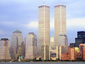 Ornate Exterior of Buildings in Skyline in Manhattan, New York