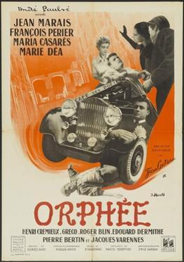 "Orpheus, 1950 ""Orphee"" Directed by Jean Cocteau"