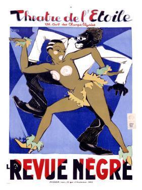 La Revue Negre by Orsi