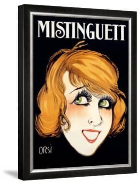 Mistinguett by Orsi
