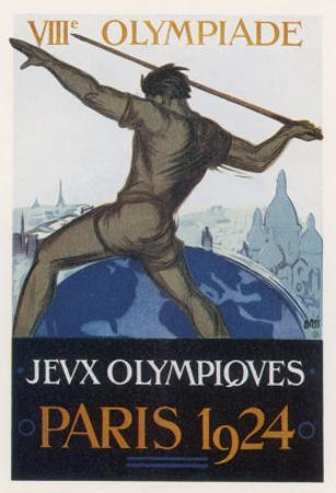 Poster for the Paris Olympiad by Orsi