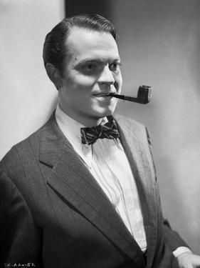 Orson Welles Portrait in Bowtie and Coat by E Bachrach