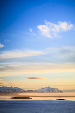 Coastal Landscape At Sunrise Near Hofn. Southern Iceland by Oscar Dominguez