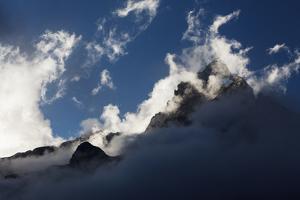 Machhermo Peak Or Pharilapche. Sagarmatha National Park. Solukhumbu District. Nepal by Oscar Dominguez