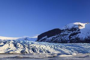 Skaftafellsjokull Glacier. Vatnajokull National Park. Iceland by Oscar Dominguez