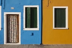 Typical Colorful Houses. Burano. Venezia Province. Veneto. Italy by Oscar Dominguez