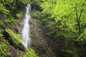 Water Cascading Flowing Over Partnach Gorge. Garmisch-Partenkirchen. Upper Bavaria. Germany by Oscar Dominguez