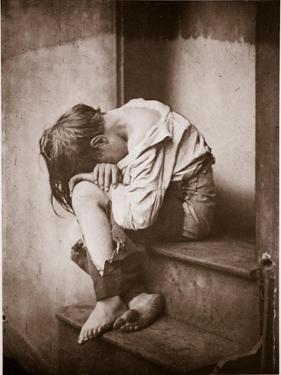 A Night Out, Homeless, C.1857 by Oscar Gustav Rejlander