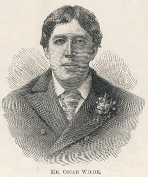 Oscar Wilde, Irish Playwright Author and Celebrity