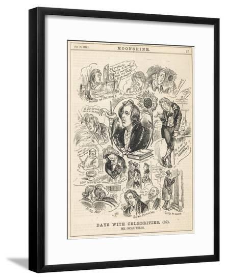Oscar Wilde Moonshine--Framed Giclee Print