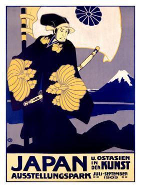 Japanese Art Exhibit, c. 1909 by Oskar Graf