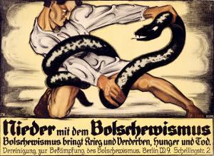 Nieder Mit Dem Bolschewismus by Oskar Kokoschka