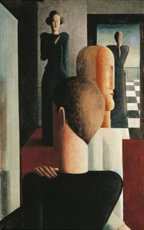 Four Figures in a Room, 1925