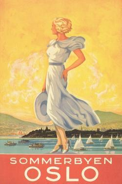 Oslo Travel Poster