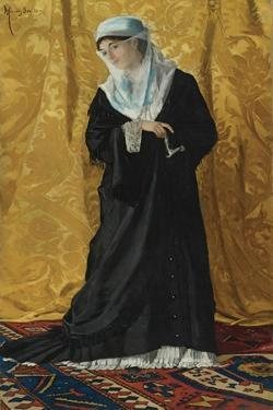 A Lady of Constantinople by Osman Hamdi Bey