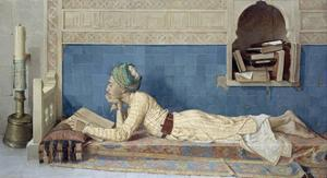 A Young Emir, 1905 by Osman Hamdi Bey