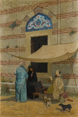 Public Scribe by Osman Hamdi Bey