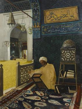 Quran Reciting by Osman Hamdi Bey