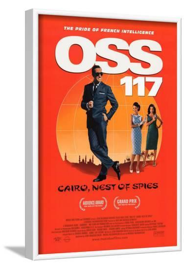 OSS 117: Cairo, Nest of Spies--Framed Masterprint