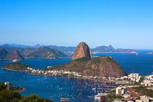 Aerial View Of Botafogo And The Sugar Loaf In Rio De Janeiro Brazil by OSTILL