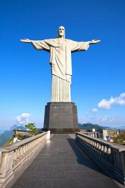 Christ The Redeemer Statue In Rio De Janeiro In Brazil by OSTILL