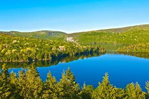 Panorama Lake of Sacacomie  in Quebec Canada by OSTILL