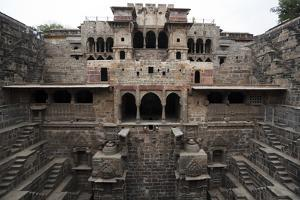 The Giant Step Well of Abhaneri in Rajasthan State in India by OSTILL
