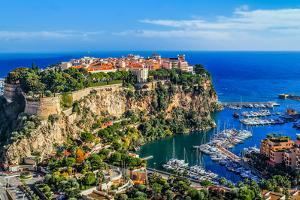 The Rock The City Of Principaute Of Monaco And Monte Carlo In The South Of France by OSTILL