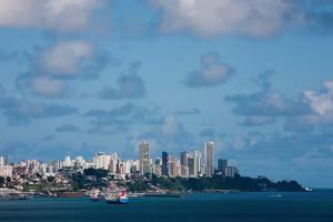 Todos Santos Bay of Salvador of Bahia State Brazil by OSTILL