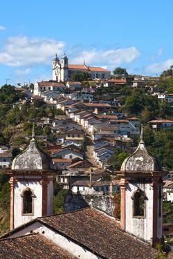View of the Unesco World Heritage City of Ouro Preto in Minas Gerais Brazil by OSTILL