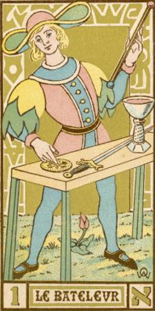 Tarot: 1 Le Bateleur, The Juggler