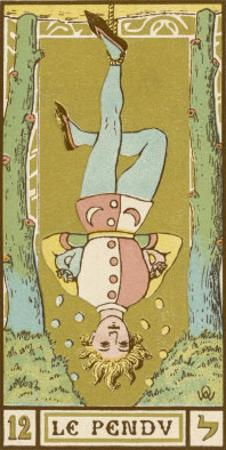 Tarot: 12 Le Pendu, The Hanged Man