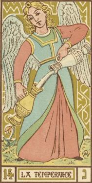 Tarot: 14 La Temperance by Oswald Wirth