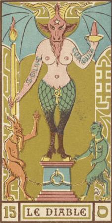Tarot: 15 Le Diable, The Devil