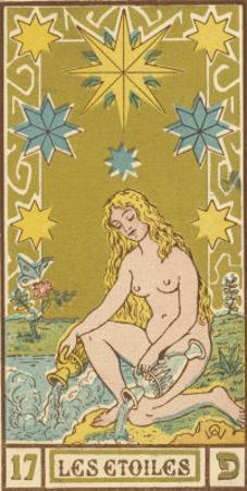 Tarot: 17 Les Etoiles, The Stars