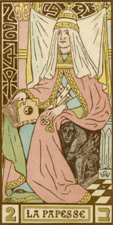 Tarot: 2 La Papesse, The Female Pope