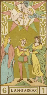 Tarot: 6 L'Amoureux, The Lover by Oswald Wirth