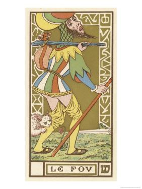 Tarot: The Fool by Oswald Wirth