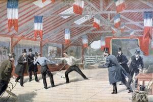 A Tragic Duel: the Death of Monsieur Harry Alis, 1895 by Oswaldo Tofani