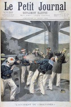 Accident on the French Warship 'Bouvines, 1895 by Oswaldo Tofani