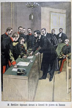 Alphonse Bertillon, French Law Enforcement Officer, 1899
