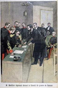 Alphonse Bertillon, French Law Enforcement Officer, 1899 by Oswaldo Tofani