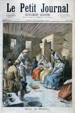 Christmas in Russia, 1893 by Oswaldo Tofani
