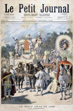 Fatted Ox Celebrations in Paris, 1896 by Oswaldo Tofani