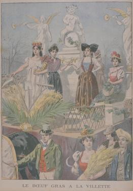Fatted Ox Festivities, Villette, Paris, 1900 by Oswaldo Tofani