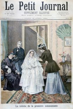 First Communicant, 1894 by Oswaldo Tofani
