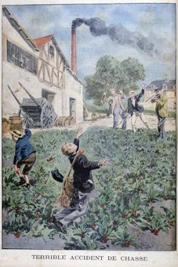 Hunting Accident, 1900 by Oswaldo Tofani