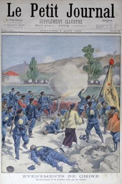 Invasion of the Russian Frontier by the Chinese, 1900 by Oswaldo Tofani