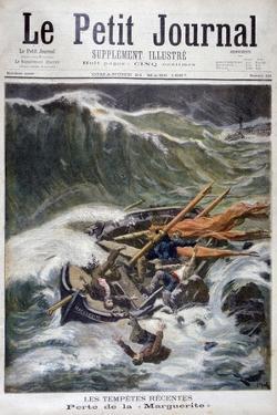 Loss of the Fishing Boat 'Marguerite, 1897 by Oswaldo Tofani