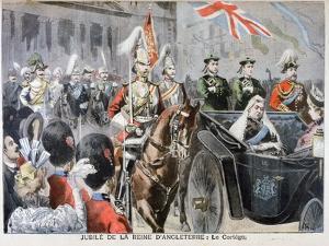 Procession, Diamond Jubilee of Queen Victoria, 1897 by Oswaldo Tofani